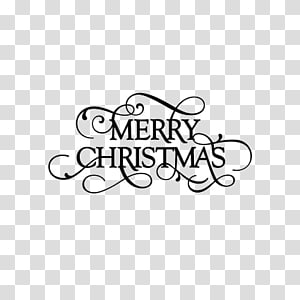 merry christmas in english wordart PNG
