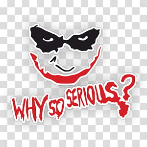 Joker Why So Serious? T-shirt Drawing , joker PNG clipart