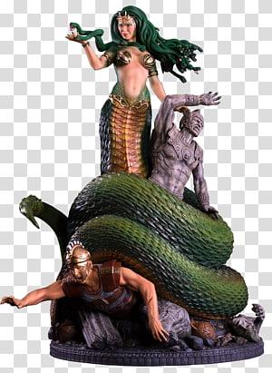 Medusa Perseus Greek mythology Gorgon Phorcys, smite PNG