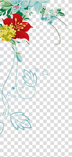 flower decoration PNG clipart