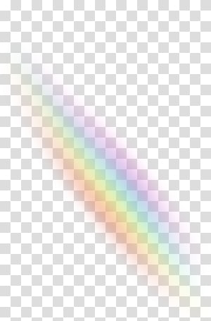 Rainbow Light Color Sky, Light effects PNG clipart