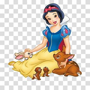 Snow White Seven Dwarfs Evil Queen Cartoon Disney Princess, snow white PNG clipart