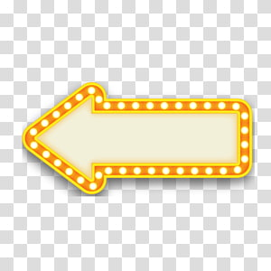 yellow arrow PNG