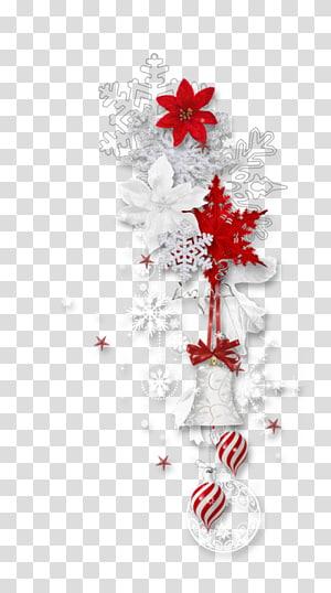Christmas , White snowflake PNG