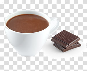 Hot Chocolate Coffee cup Table-glass, crepes chocolat PNG