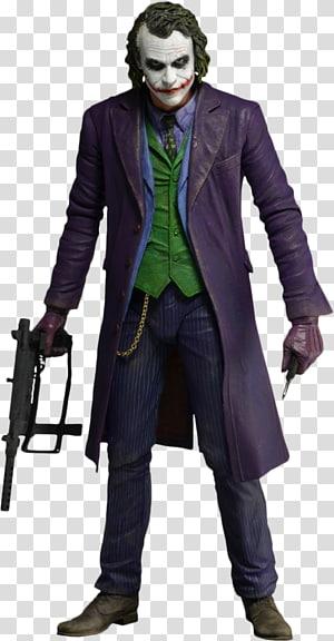 Joker Batman The Dark Knight Heath Ledger Action & Toy Figures, joker PNG clipart