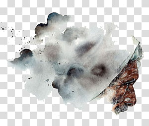 Madurai Watercolor painting Behance Drawing .net, China Wind antiquity ink watercolor elderly PNG clipart
