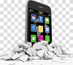 Smartphone Mobile phone Feature phone Advertising Concrete masonry unit, smartphone PNG