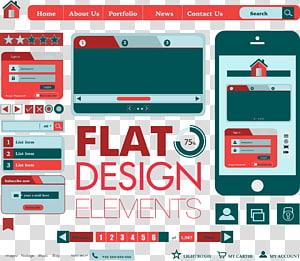 Web page Web design Web button, Web Design PNG