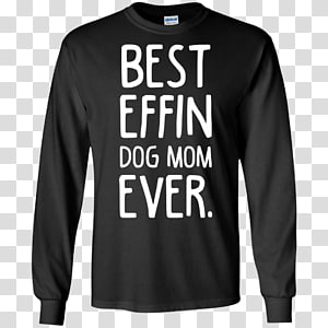 Long-sleeved T-shirt Hoodie, Best mom ever PNG