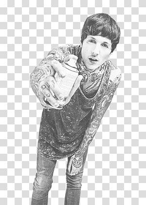 Oliver Sykes Bring Me the Horizon Tattoo Sempiternal Singer, bmth PNG