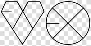 Exodus XOXO Growl K-pop, inspiration PNG clipart