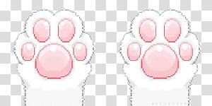 Cat Kitten Paw Pastel, Cat PNG