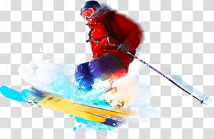 Ski Bindings Alpine skiing Skier Winter sport, Freestyle Skiing PNG