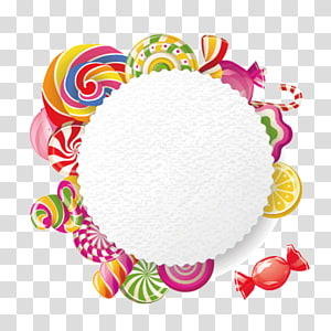 candy border PNG