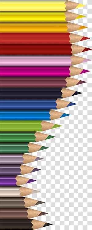 color pencil border PNG