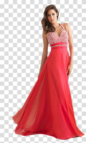 Dress Prom Evening gown Formal wear Top, dress PNG