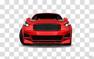 Supercar Automotive lighting Automotive design Bumper, red car PNG