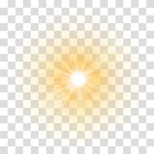 sun rays, Light Lens flare , light PNG clipart