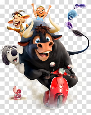 farm animals illustration, The Story of Ferdinand YouTube Film 20th Century Fox Trailer, youtube PNG clipart