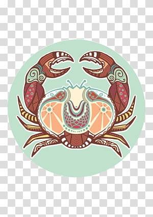 Cancer Zodiac Astrological sign Astrology Horoscope, Peixes Signo Personalidade PNG clipart