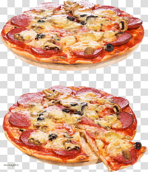 Pizza Italian cuisine Bacon Salami Pepperoni, Pizza PNG clipart