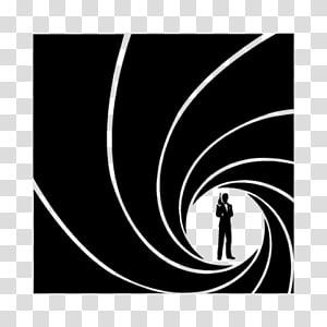 James Bond Film Series Logo Silhouette, james bond PNG clipart