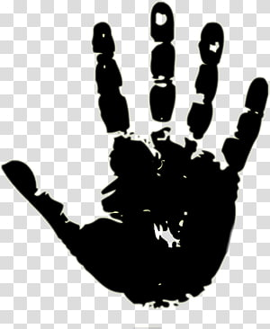 Fingerprint Hand , hand PNG