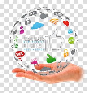 Social media marketing Advertising Mass media, social media PNG