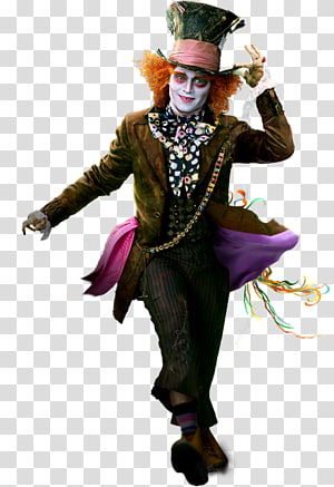 Mad Hatter illustration, The Mad Hatter Queen of Hearts Alice Red Queen Tarrant Hightopp, alice in wonderland PNG clipart