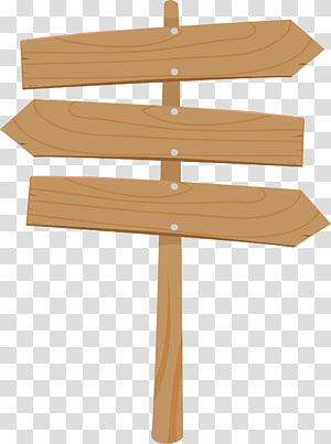brown wooden arrow PNG