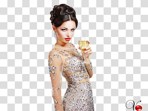 Woman Painting Fashion Gown Female, woman PNG