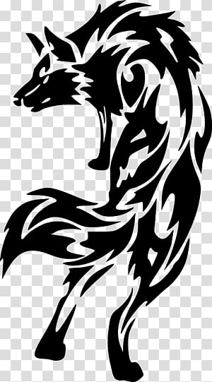 Tattoo artist Dog Pack Sleeve tattoo, wolf PNG
