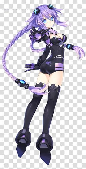 Megadimension Neptunia VII Hyperdimension Neptunia Victory Cyberdimension Neptunia: 4 Goddesses Online Purple Heart Video game, purple heart PNG