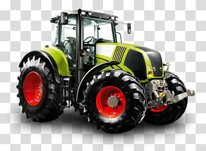 John Deere Tractor Claas Axion Agriculture, tractor truck PNG