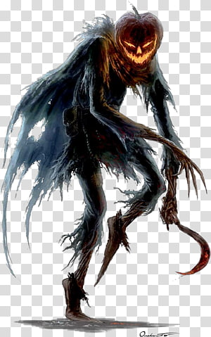 Jack O' Lantern monster character , Pathfinder Roleplaying Game Dungeons & Dragons Ghoul Legendary creature Ghost, pathfinder PNG clipart