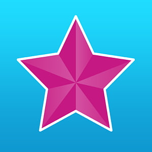 Music video Star App Store, red star PNG clipart