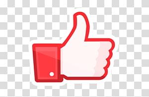 red Like logo graphic, Social media Thumb signal Facebook like button Facebook like button, social media PNG clipart