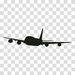 Flight Airplane Jet aircraft Airliner, private jet PNG