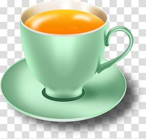Teacup Coffee Espresso, Cup tea PNG