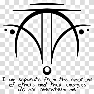 Sigil Symbol Witchcraft Empathy Magic, symbol PNG clipart
