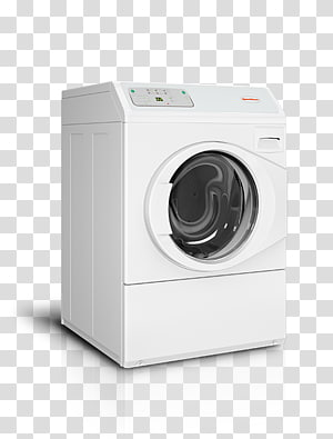 Washing Machines Laundry Clothes dryer Speed Queen Combo washer dryer, Washer Top view PNG