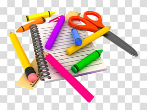 white notebook , School supplies Education , Drawing tools PNG clipart
