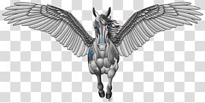 Medusa Tattoo Pegasus Project Nike Perseus, pegasus PNG
