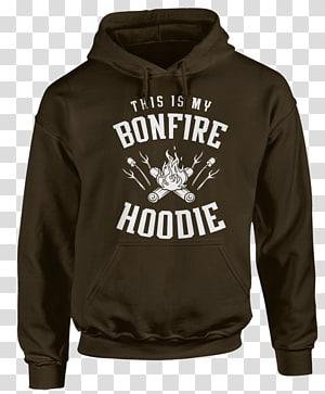 Hoodie T-shirt Clothing Sleeve, bonfire hoodie PNG