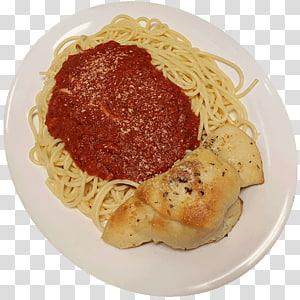 Spaghetti alla puttanesca Taglierini Pasta al pomodoro Marinara sauce, spaghetti and meatballs PNG clipart