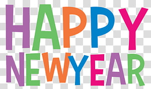 New Years Day New Years Eve , New Art s PNG clipart