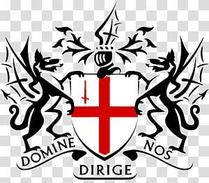 Domie Dirige Nos logo, City Of London PNG