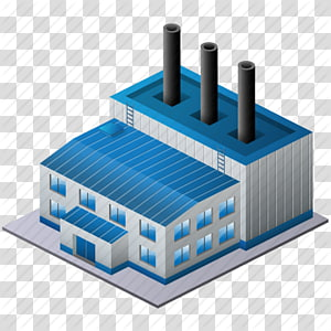 gray and blue factory illustration, Computer Icons Factory Industry Desktop , Factory PNG clipart