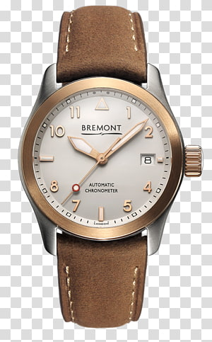 Bremont Watch Company Swiss made Watchmaker Automatic watch, Hamilton Watch Company PNG